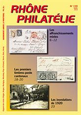 Rhône Philatélie No 159 mars 2018